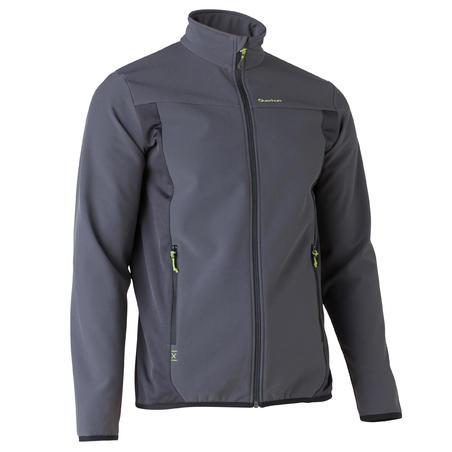 Forclaz Softshell 500 Men's Hiking Jacket - Black
