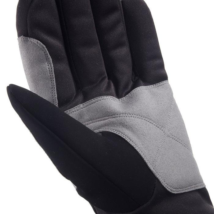 Warme handschoenen voor recreatief langlaufen zwart