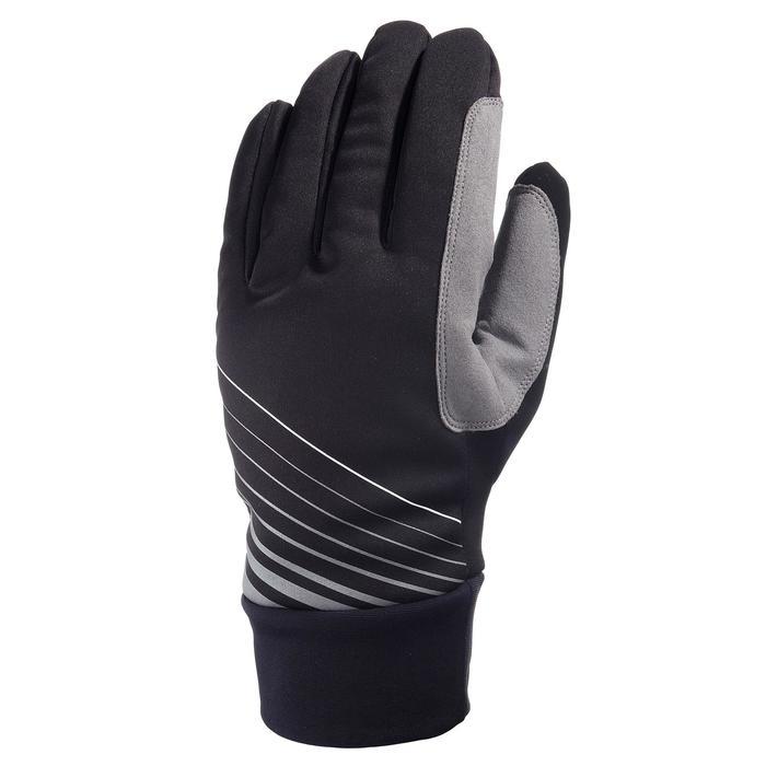Gant ski de fond loisir chaud noir - 642598