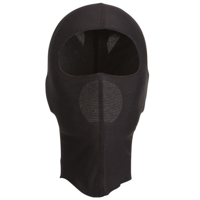 Unterhelm-Mütze Unterziehmütze Erwachsene schwarz