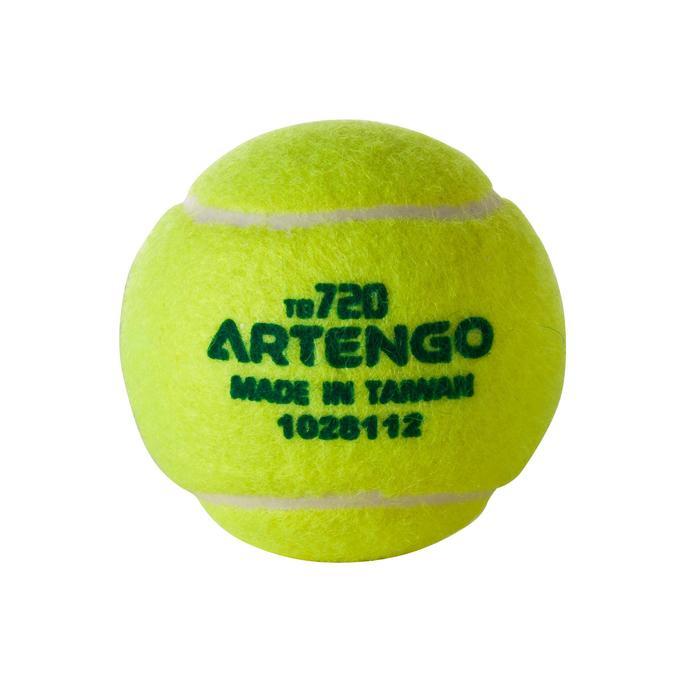 BALLE DE TENNIS PRESSION TB120*3 COMPETITION JR - 647697