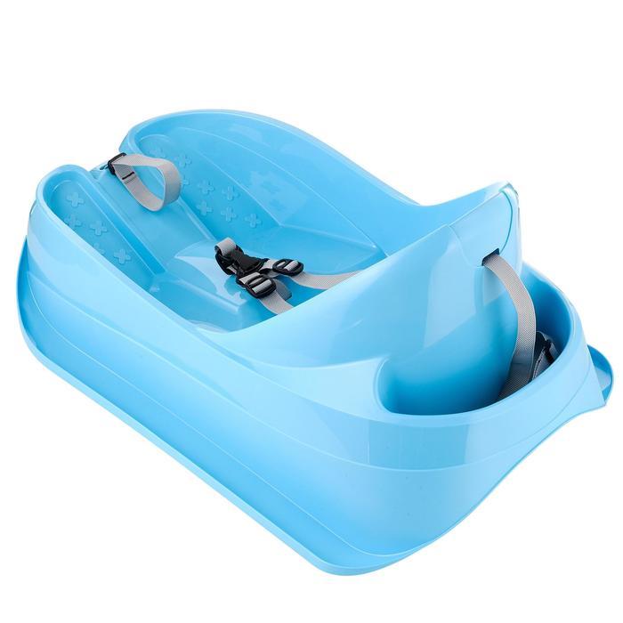 Traîneau à neige pour les bébés, Bobee Bob, bleu - 647987