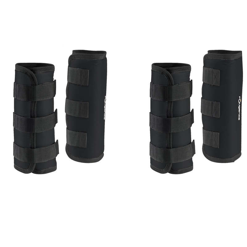 ŠTITNICI ZA KONJA KOD MIROVANJA Jahanje - Štitnici za noge Traveller 300 FOUGANZA - Dodatna oprema