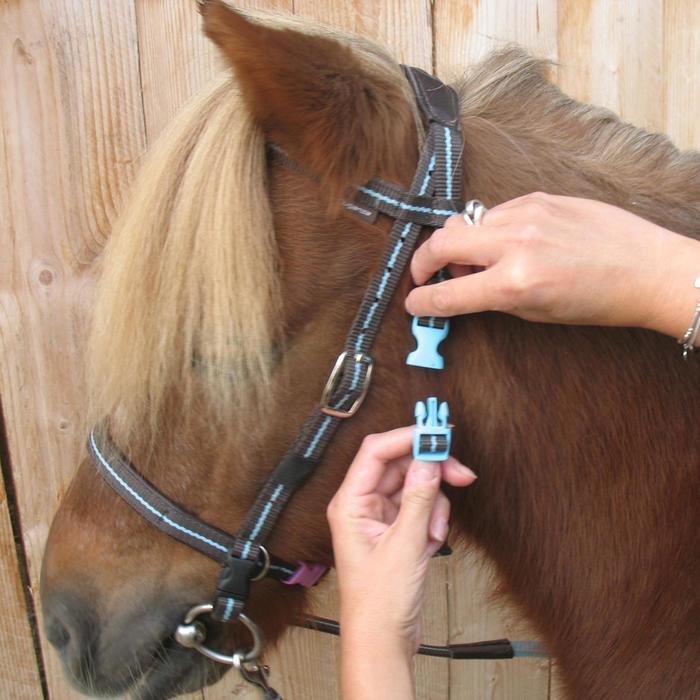 Filet + rênes équitation cheval et poney INITIATION - 648378