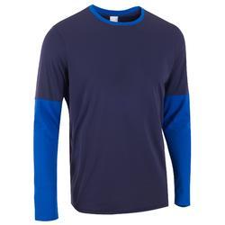 保暖T恤 100 - 深藍色