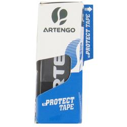BANDE DE PROTECTION RAQUETTE DE TENNIS PROTECT TAPE NOIR LOT DE 3