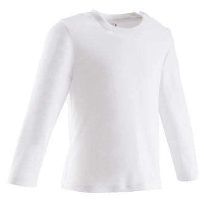 Tee-shirt manches longues Baby Gym blanc
