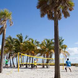 Beach tennis set 700 oranje - 650346