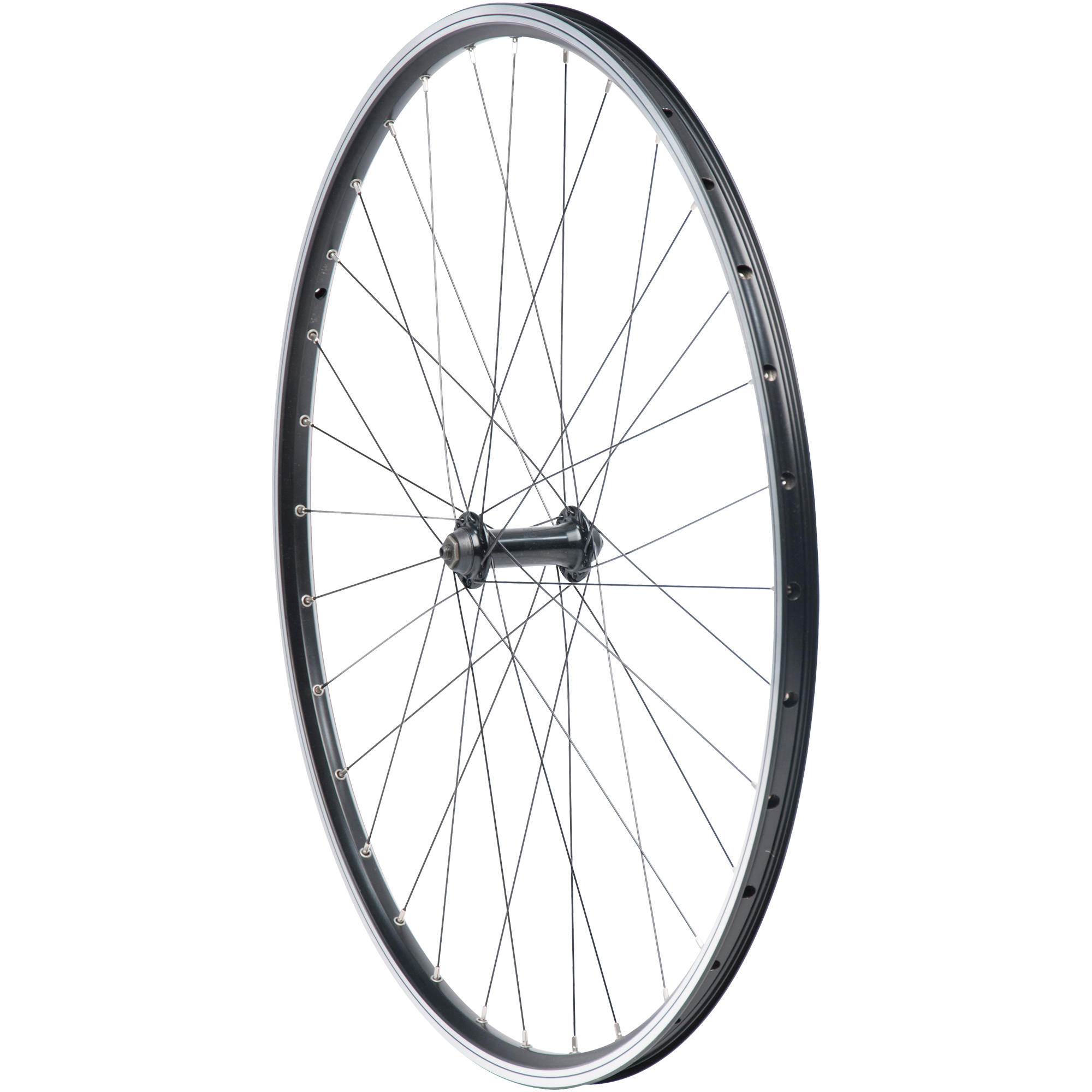 FR HYBRID WHEEL DBL WALL BLACK