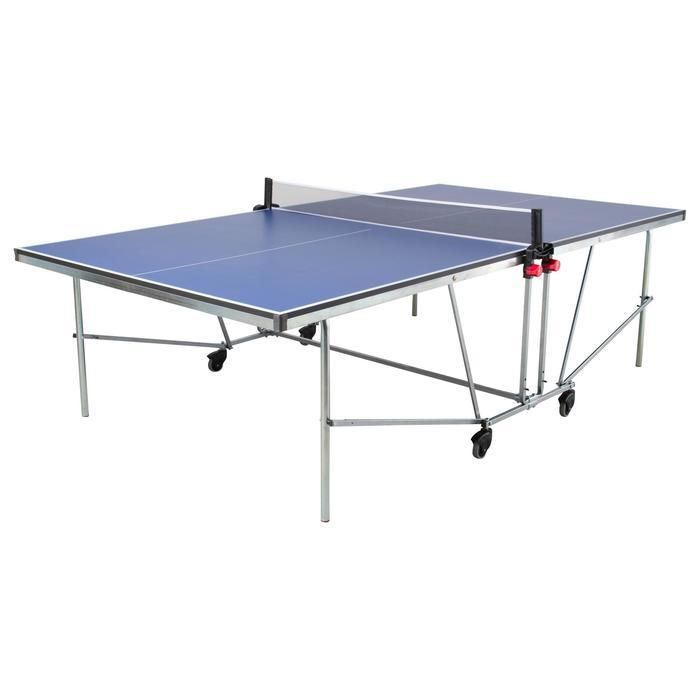 Netz und Pfosten Tischtennisplatte Artengo FT730 Indoor