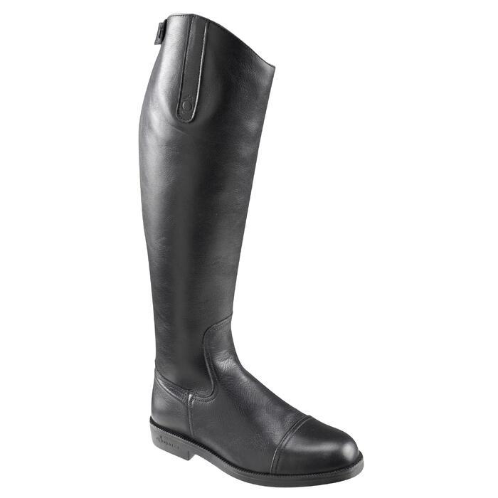 Bottes en cuir équitation adulte RIDING - 654813