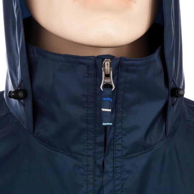 Raincut Zip Men Hiking Rain Jacket Blue