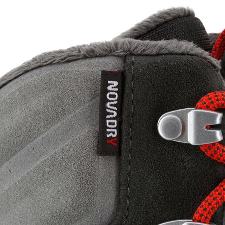 SH920 x-warm men's grey high snow hiking boots.