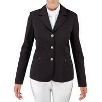 Classic Women's Horse Riding Show Jacket - Black