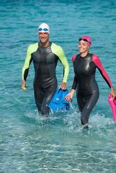 Dames zwempak OWSwim in neopreen van 1/0 mm voor gematigd warm open water - 656691