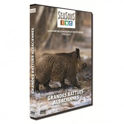 DVD chasse grandes battues alsaciennes