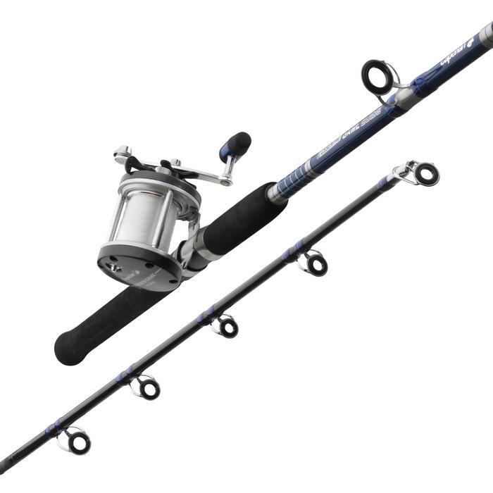 Ensemble pêche à la traine SET GAME  20 LBS  ESSENTIEL - 659444