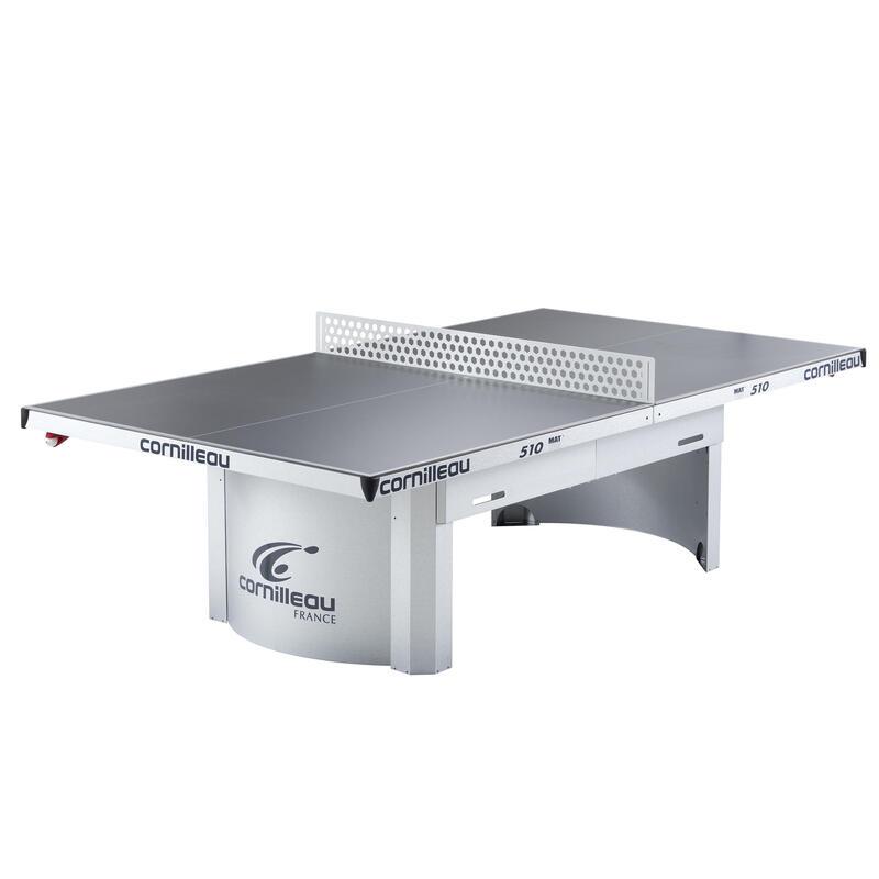TABLE DE TENNIS DE TABLE FREE 510 PRO OUTDOOR GRISE