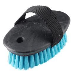 Schooling Children's Soft Horse Riding Brush Small - Blue