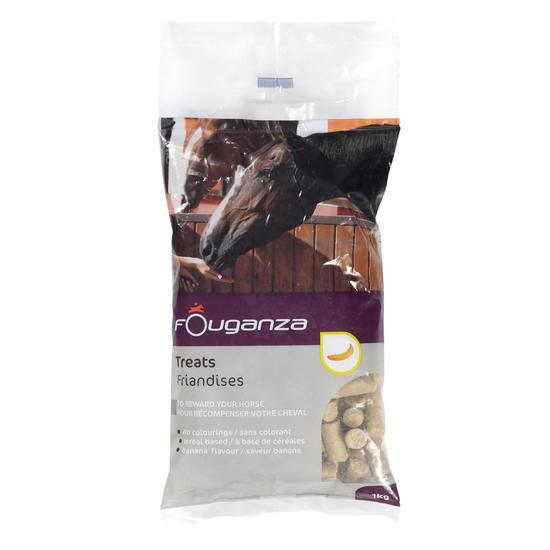 Paardensnoepjes Fougatreats appel - 1 kg - 659837