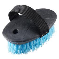 Cepillo duro modelo pequeño equitación niños SCHOOLING azul