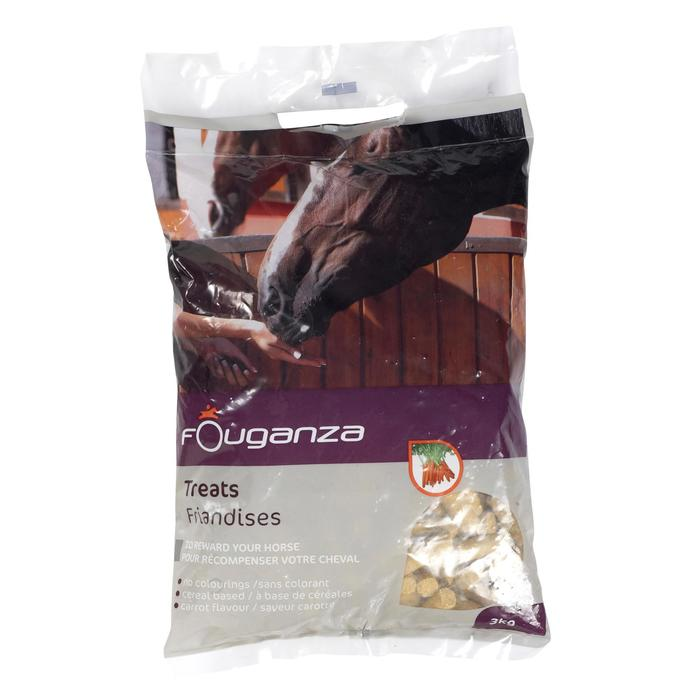 Golosinas equitación caballo y poni FOUGATREATS zanahoria - 3 kg