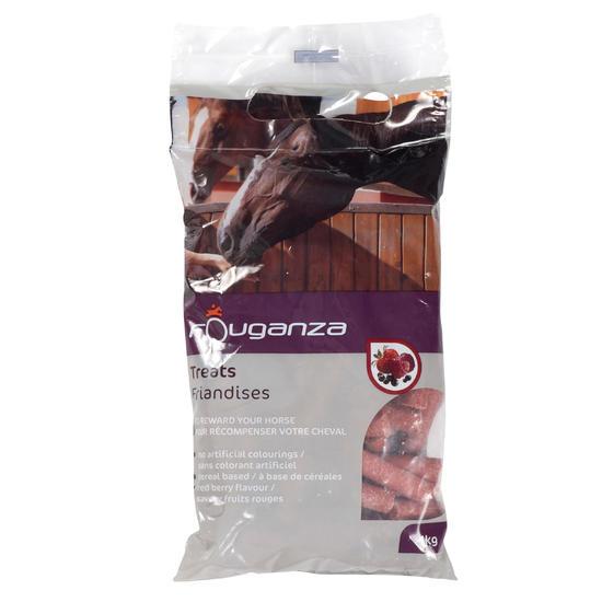 Paardensnoepjes Fougatreats appel - 1 kg - 659845