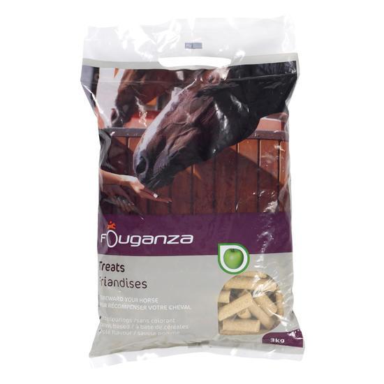 Paardensnoepjes Fougatreats appel 3kg - 659846