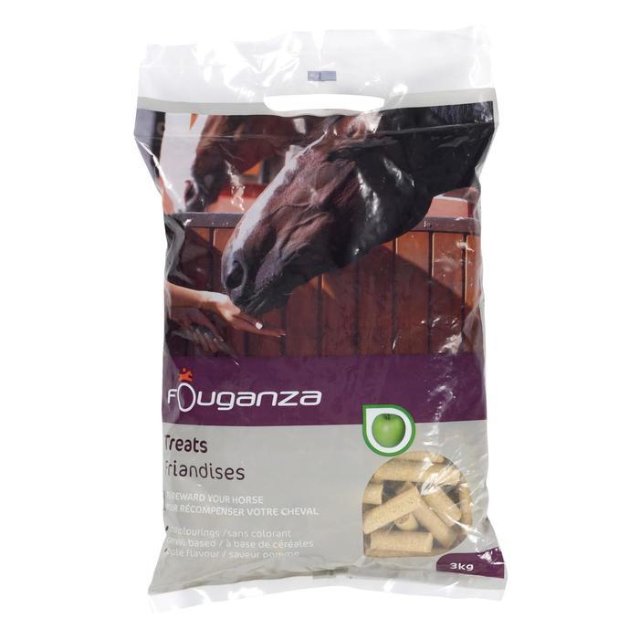 Friandises équitation cheval et poney FOUGATREATS pomme - 3KG