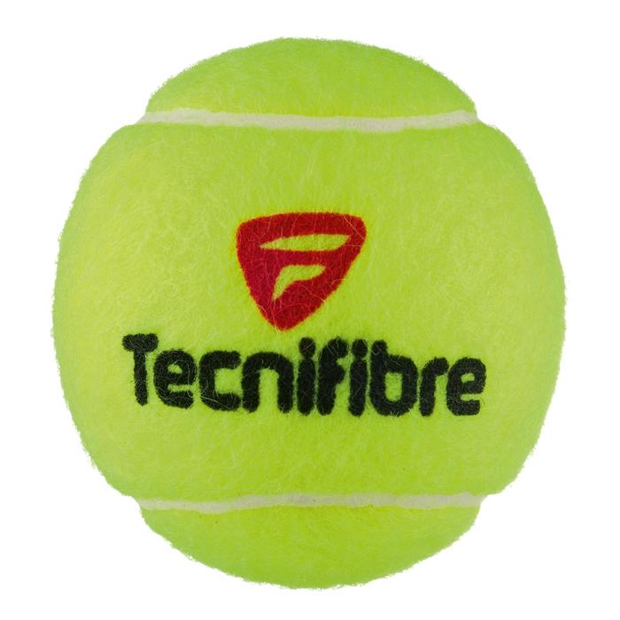Tennisballen X One set van 4 geel