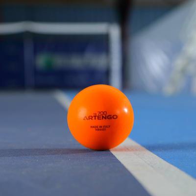 كرة التنس ARTENGO TB700 من الإسفنج - اللون برتقالي