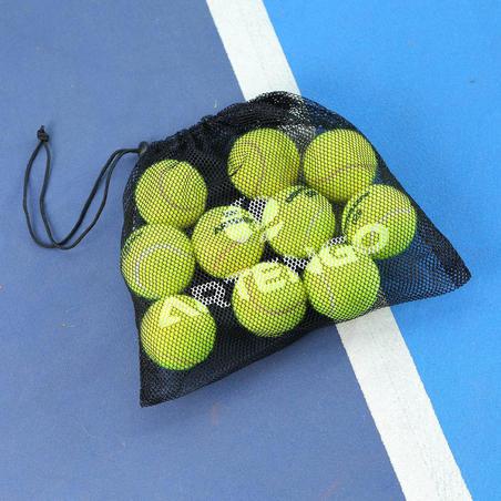 Сумка для тенісних м'ячів (на 10 м'ячів) - Чорна