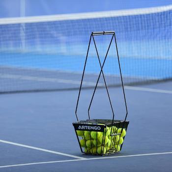 Tennisballenmand zwart