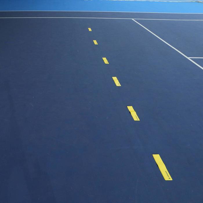6 markeerlijnen voor tennisveld
