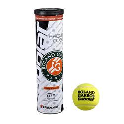 Tennisballen French Open Clay Court 4 stuks geel - 661775