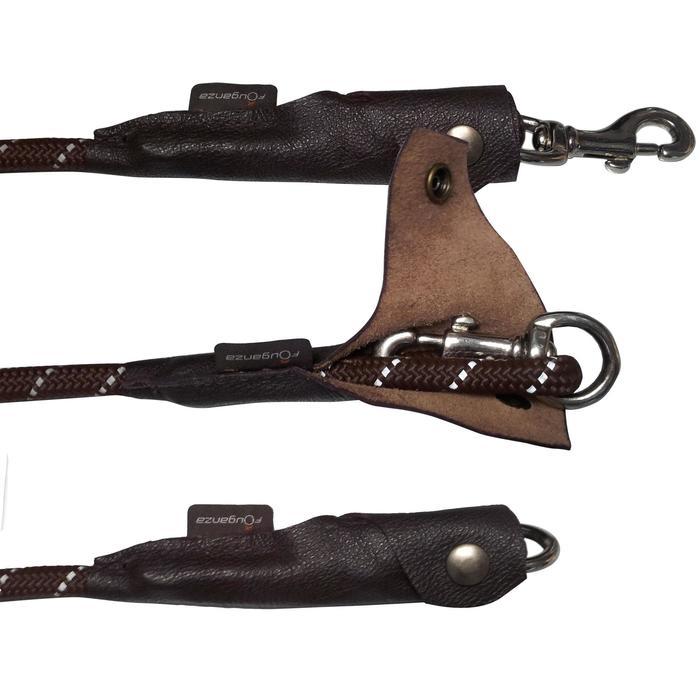 Longe équitation randonnée SENTIER marron - 661912