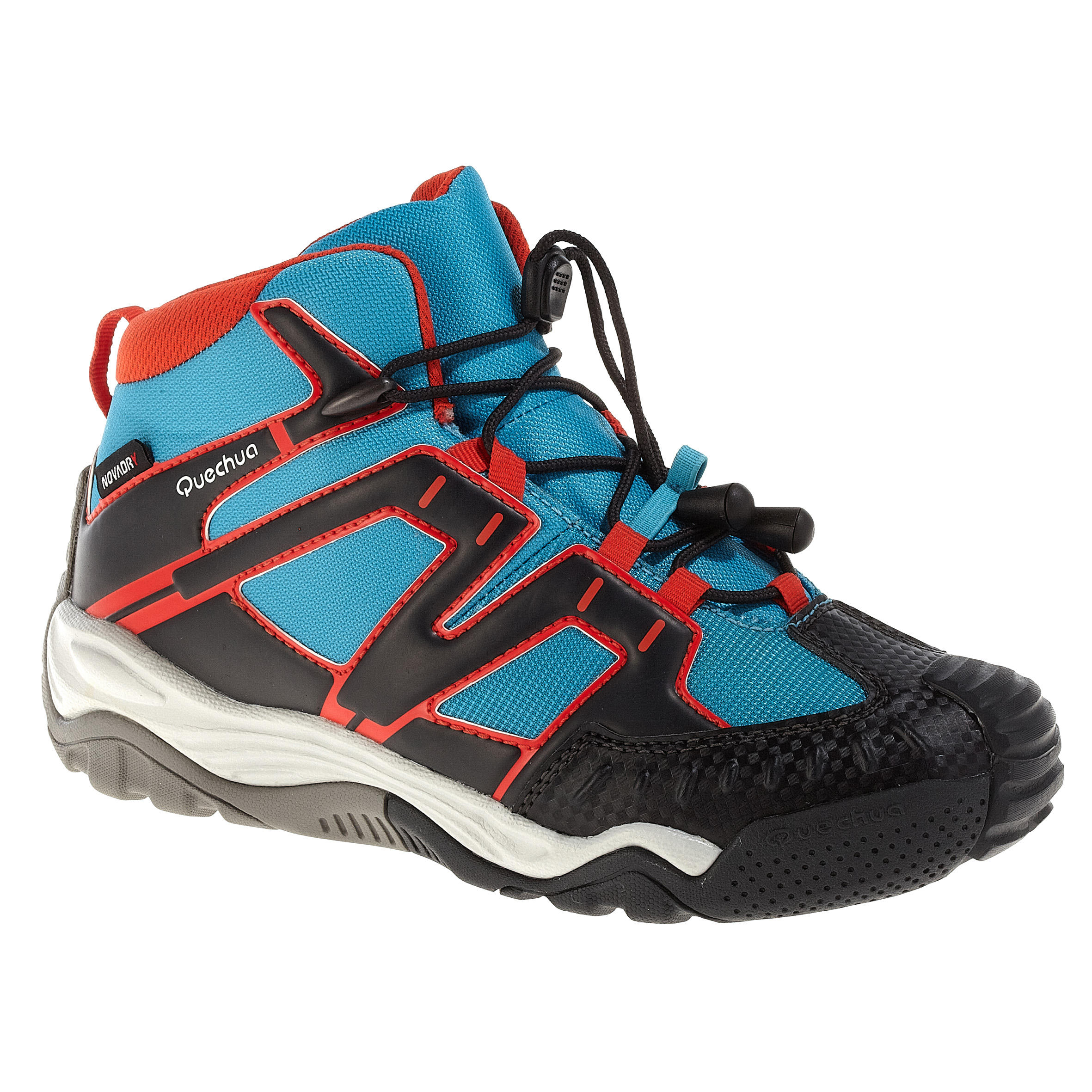 Chaussure Enfant Mid Quechua Imperméable Randonnée Crossrock nm8wN0Ov