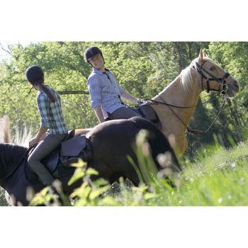 Longe équitation randonnée SENTIER marron - 663018