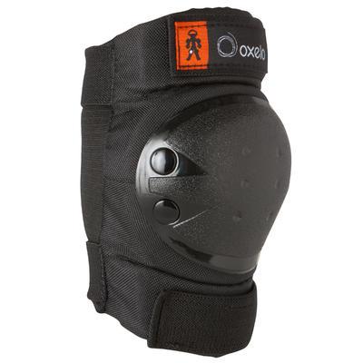 Kit 3 protecciones roller, patineta, monopatín niños BASIC negro