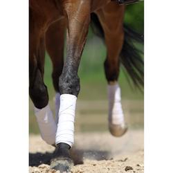 Vendas Polo Equitación Fouganza Caballo/Poni Blanco 3M 4 Vendas