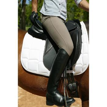 Bottes en cuir équitation adulte RIDING - 663204