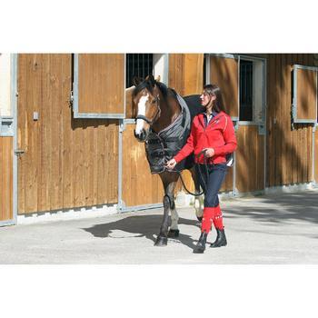 Chemise écurie équitation poney et cheval POLAR 800 noir / gris - 663309