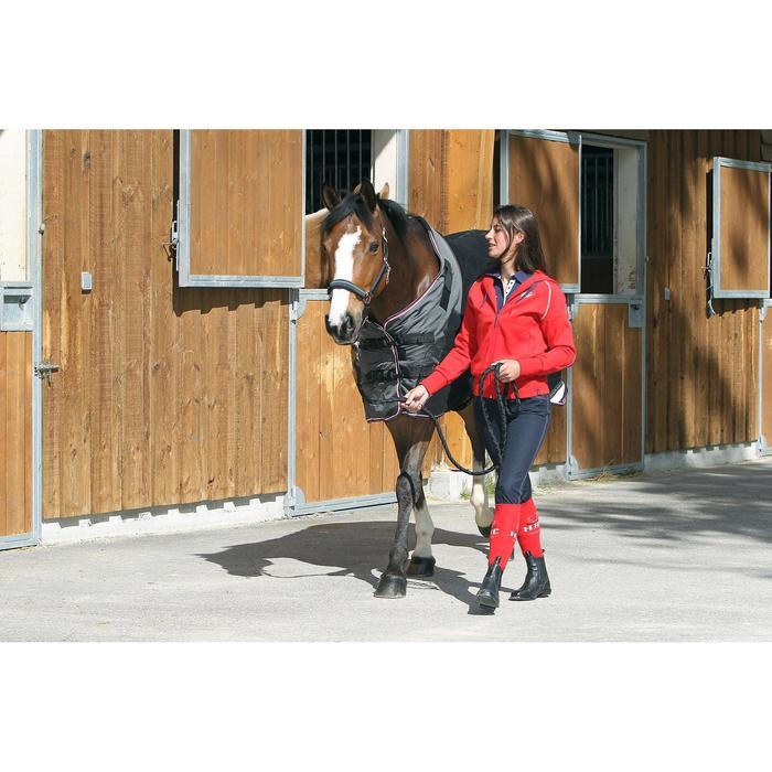 Chemise écurie équitation poney et cheval POLAR 800 noir / gris