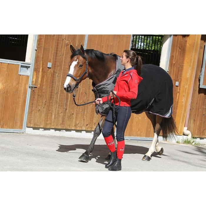 Chemise écurie équitation poney et cheval POLAR 800 noir / gris - 663310