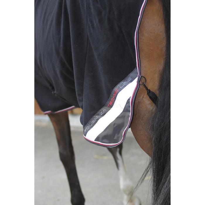 Chemise écurie équitation poney et cheval POLAR 800 noir / gris - 663311