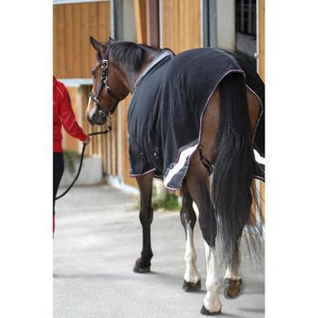 Chemise écurie équitation poney et cheval POLAR 800 noir / gris - 663312