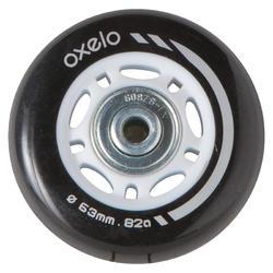 4 wielen en lagers voor kinderskates, 63 mm 82A - 663597