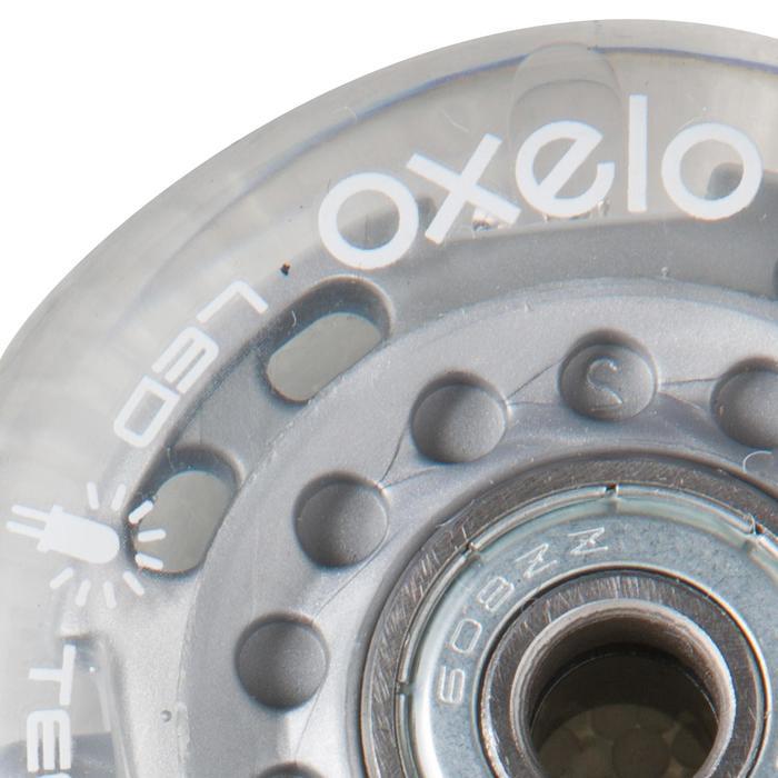2 roues avec roulements roller enfant FLASH 63mm 80A