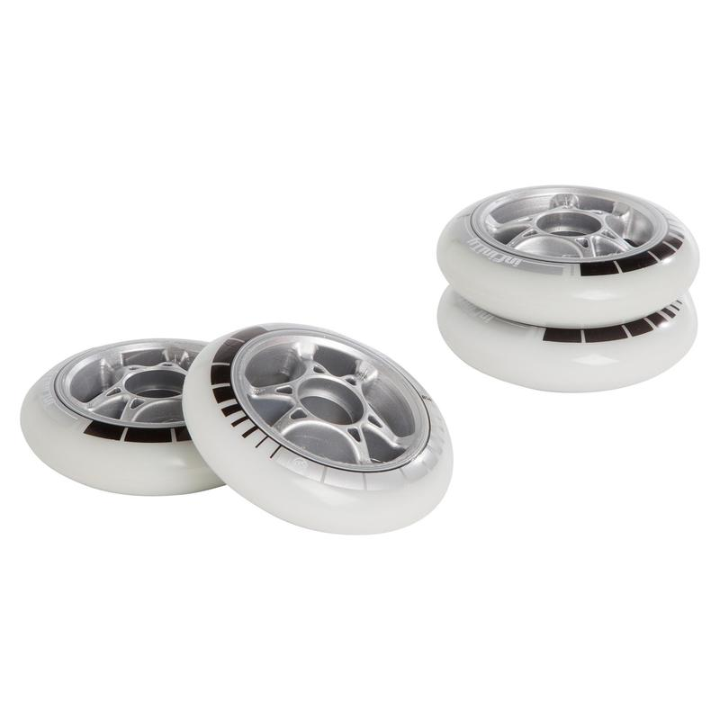 4 ruedas roller adulto POWERSLIDE INFINTY 90 mm 85A blanco