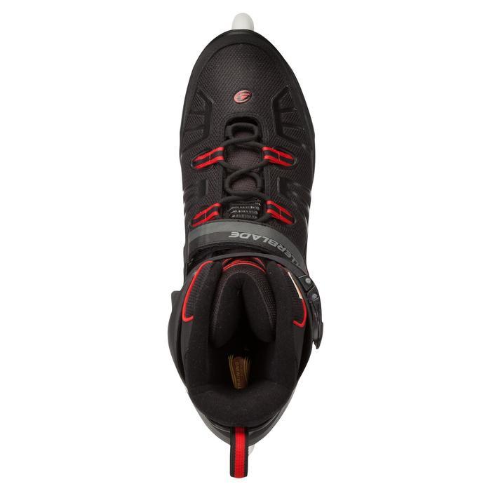 Fitness skates Rollerblade XL voor volwassenen zwart